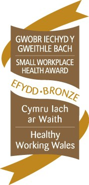 Henstaff Accreditations & Awards Considerate Small Workplace Health Award SWH Bronze