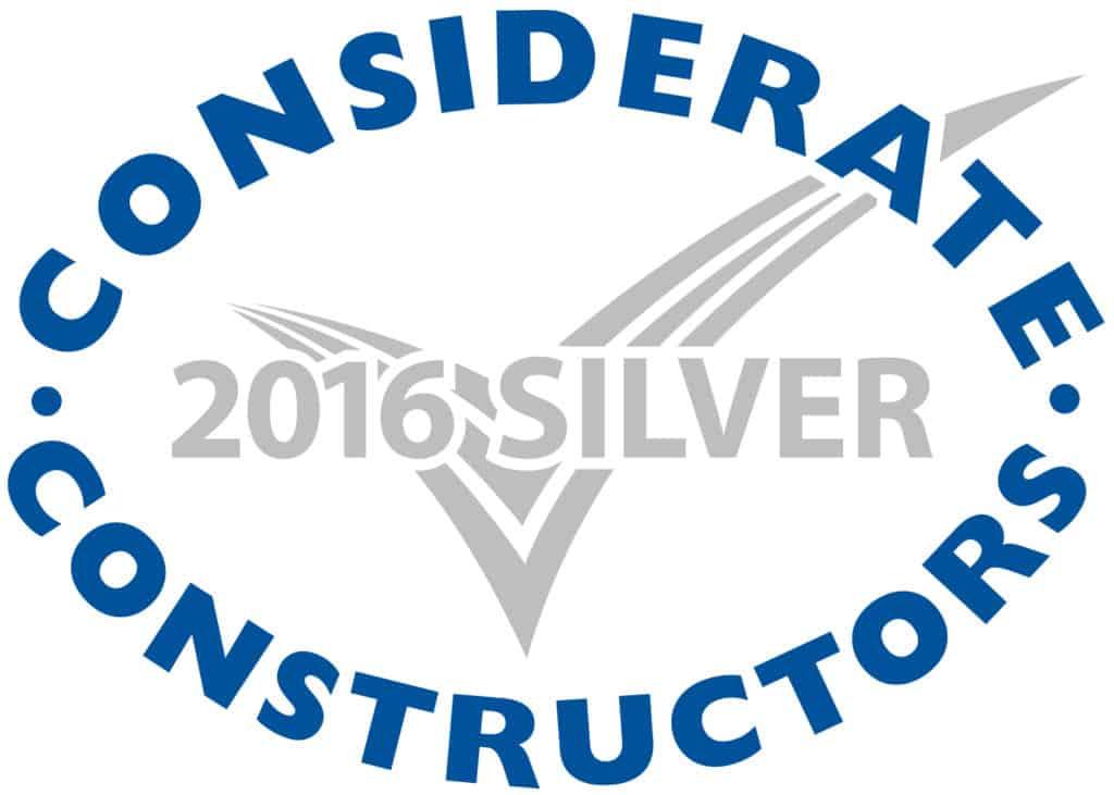 Henstaff Accreditations & Awards Considerate Constructors Silver