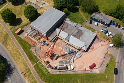 Glenwood Church Henstaff Construction