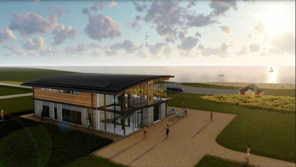 Watersports Centre Rest Bay Porthcawl Construction Design