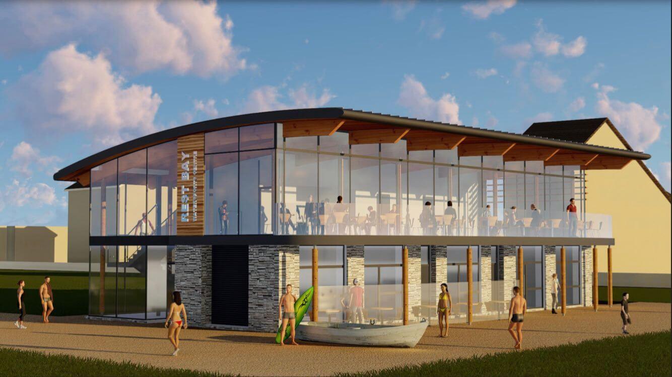 Watersports Centre Rest Bay Porthcawl Design