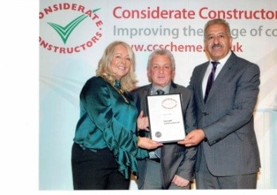 Henstaff wins Considerate Contractors 2017 Silver Award for the second year running