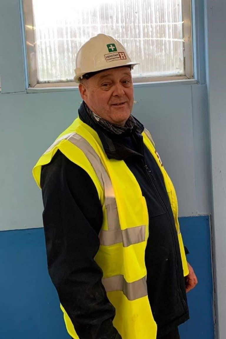 Phil Jones Site Manager