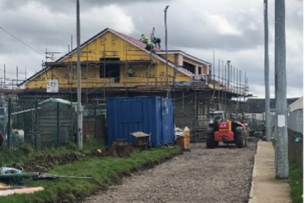 Bryncethin Community Centre Construction