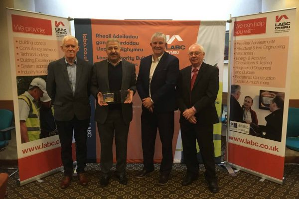 Bryncethin Rob Marsh with Akbar Ali, Paul Watkin and Alun Griffiths