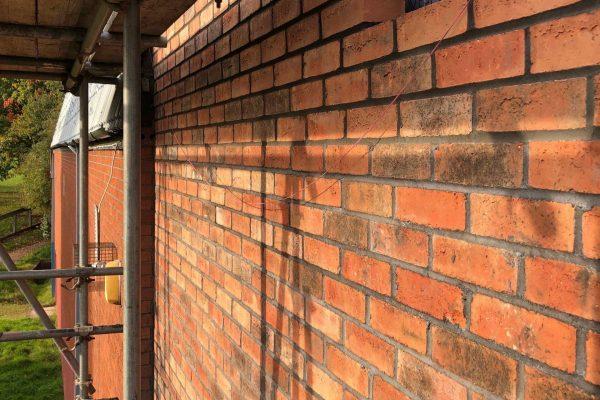 Glenwood Church Wall Henstaff Construction