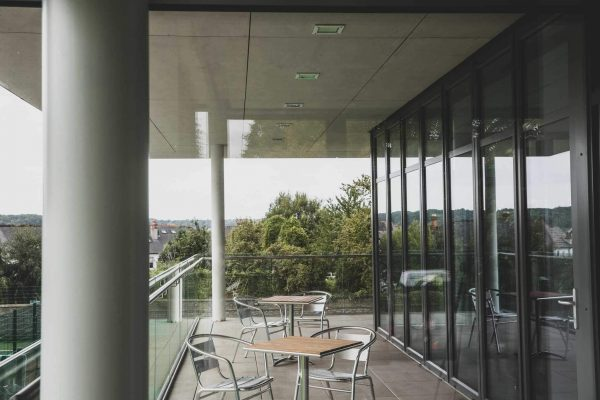 Howells School New Sports Pavilion Terrace