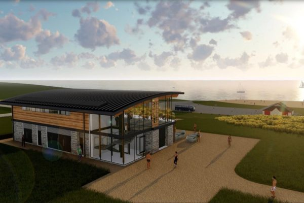 Watersports Centre Rest Bay Porthcawl Construction Design BIM