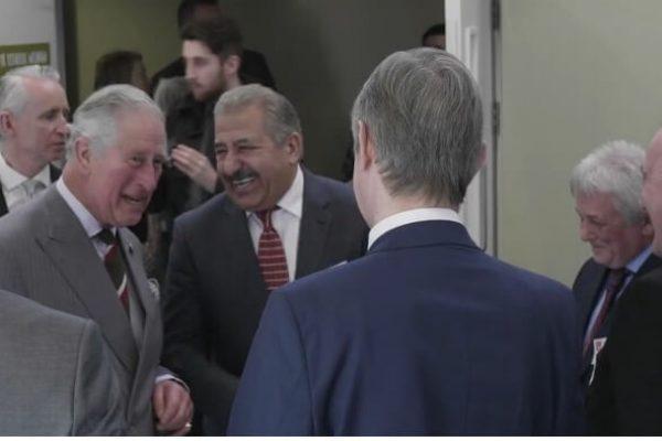Rock UK Summit Centre Opening Akbar Ali Prince Charles